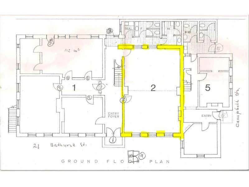 2/21 Bathurst Street Hobart TAS 7000 - Floor Plan 1