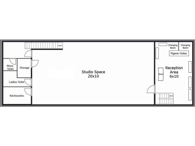 Level 1, 281-283 Swan Street Richmond VIC 3121 - Floor Plan 1