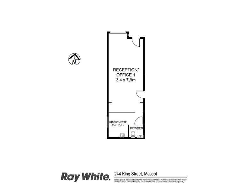 244 King Street Mascot NSW 2020 - Floor Plan 1