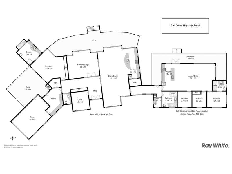 Orani Vineyard 394 Arthur Highway Sorell TAS 7172 - Floor Plan 1
