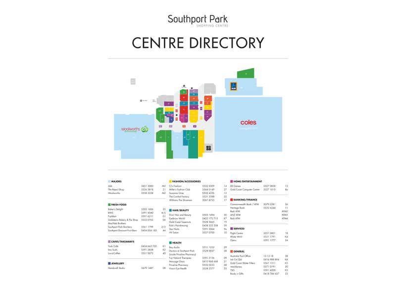 Southport Park, Cnr Ferry Road and Benowa Road Southport QLD 4215 - Floor Plan 1