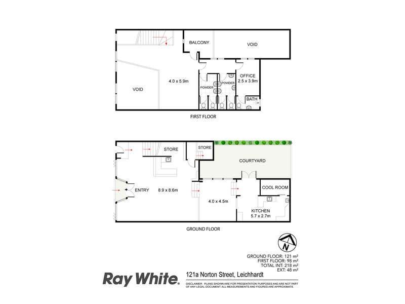 121a Norton Street Leichhardt NSW 2040 - Floor Plan 1