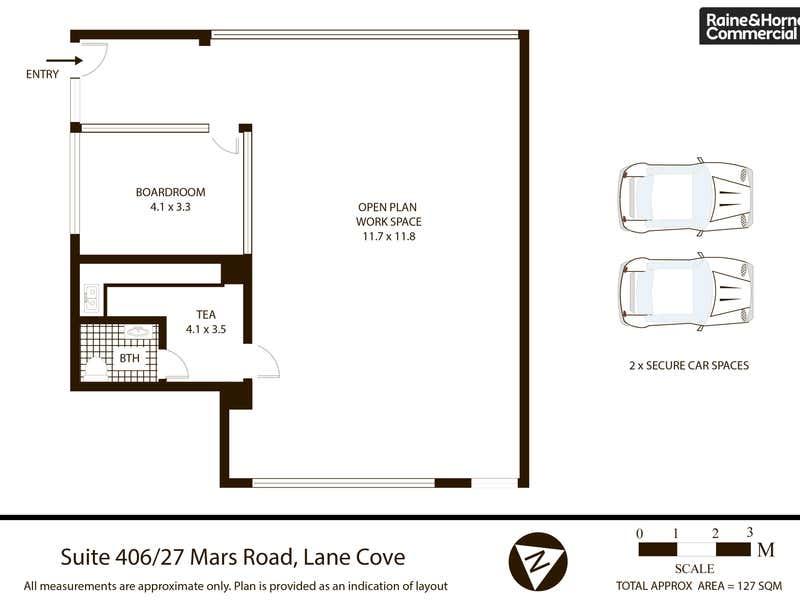 406/27 Mars Road Lane Cove NSW 2066 - Floor Plan 1