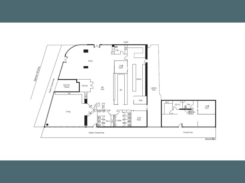 The Nixon, Ground Floor, 757 Bourke Street Docklands VIC 3008 - Floor Plan 1