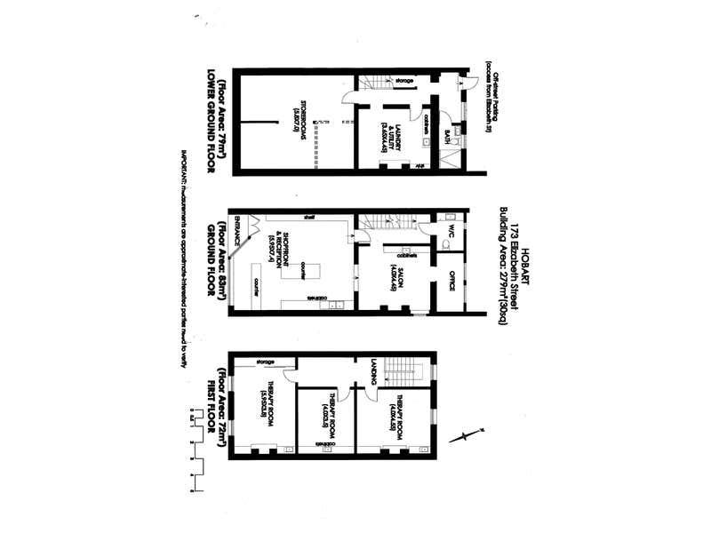 173 Elizabeth Street Hobart TAS 7000 - Floor Plan 1