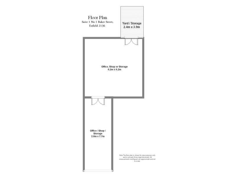 1 Baker Street Enfield NSW 2136 - Floor Plan 1