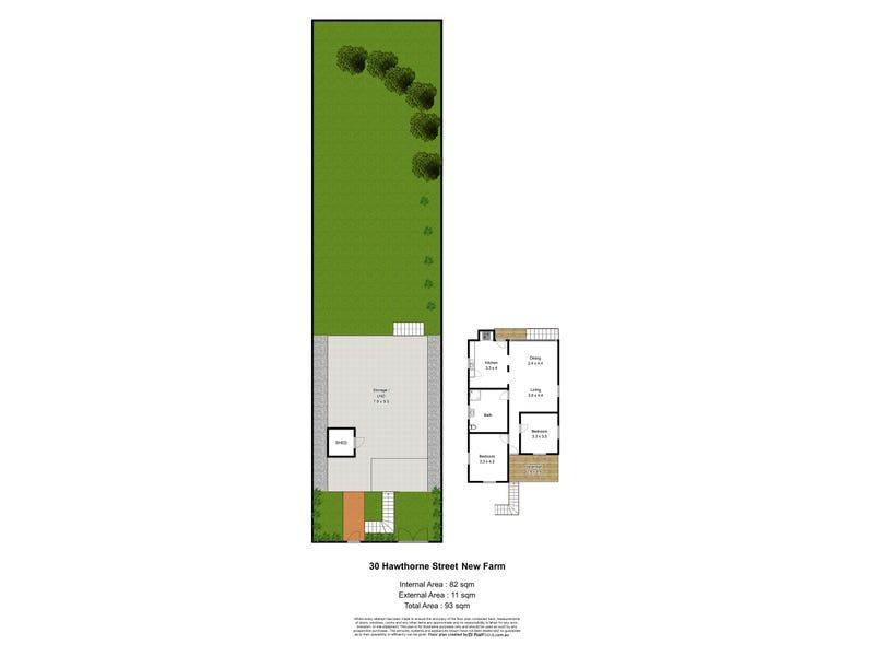 30 Hawthorne Street, New Farm, Qld 4005 - floorplan
