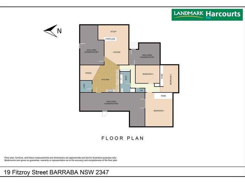 19 Fitzroy Street, Barraba, NSW 2347 - floorplan