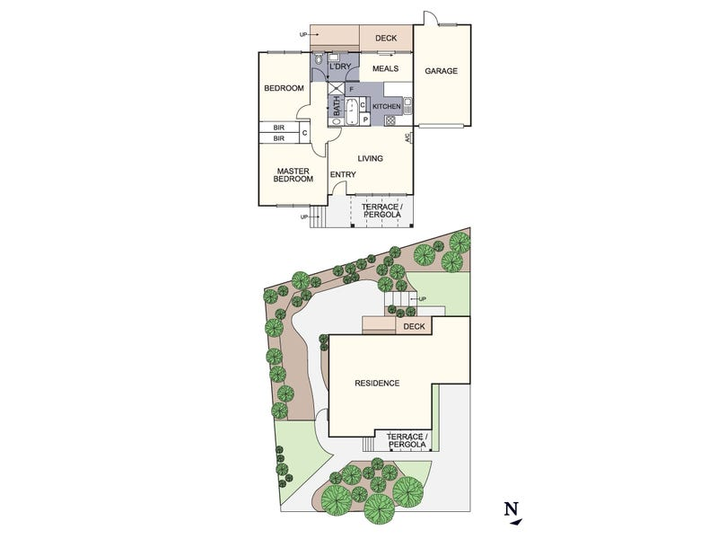 1/20 Fyffe Street, Diamond Creek, Vic 3089 - floorplan