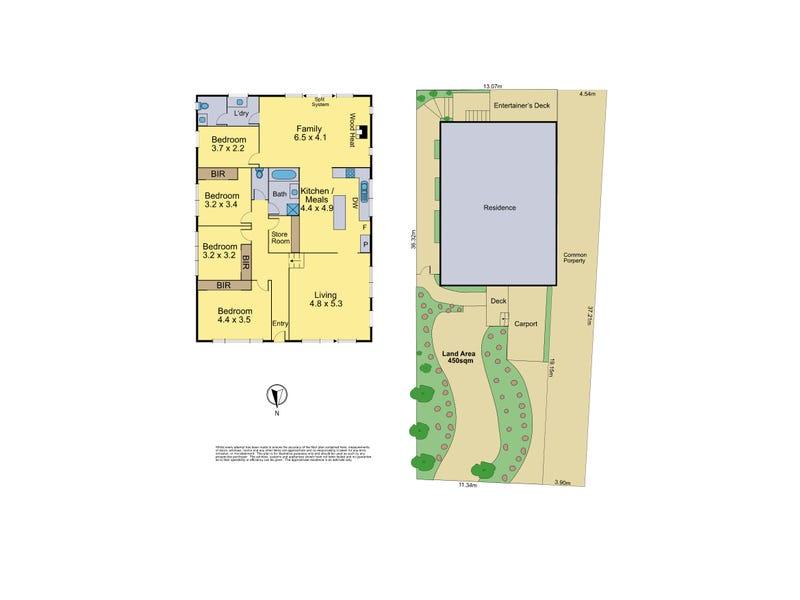 1-43 Clyde Street, Diamond Creek, Vic 3089 - floorplan