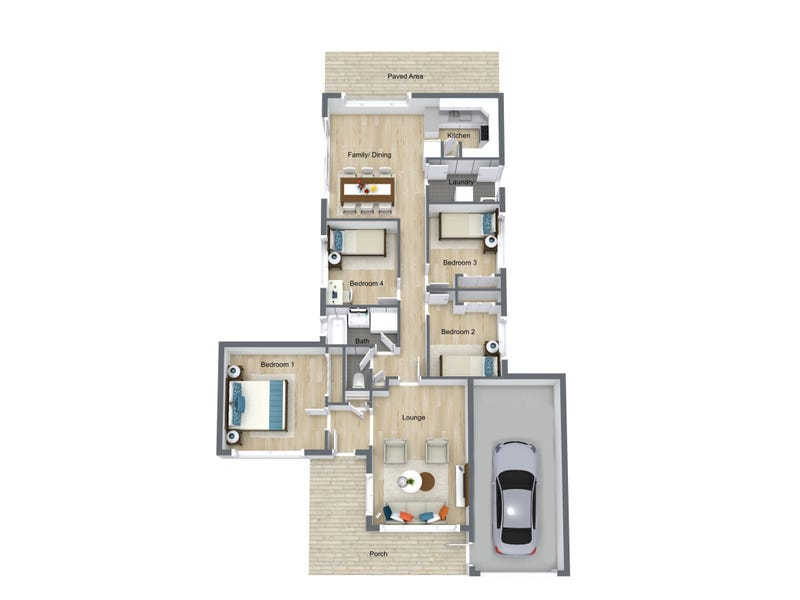 7 Lauren Place, Plumpton, NSW 2761 - floorplan