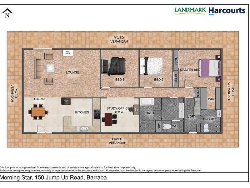 150 Jump Up Road, Barraba, NSW 2347 - floorplan