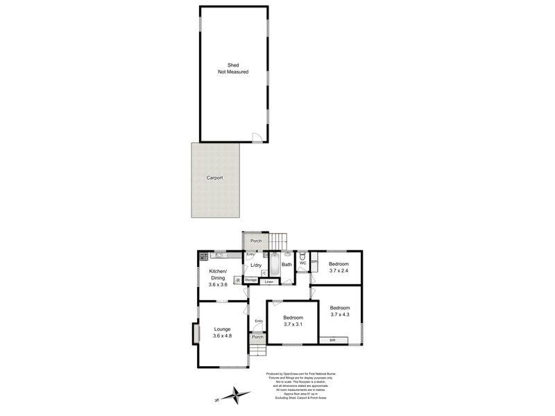 103 Stirling Street, Acton, Tas 7320 - floorplan