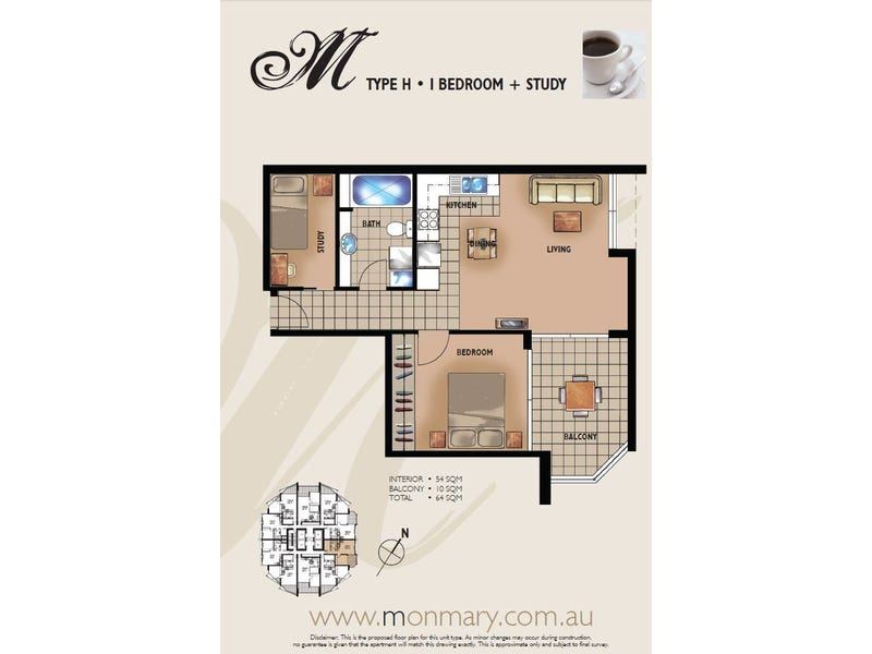 VS/70 Mary St, Brisbane City, Qld 4000 - floorplan
