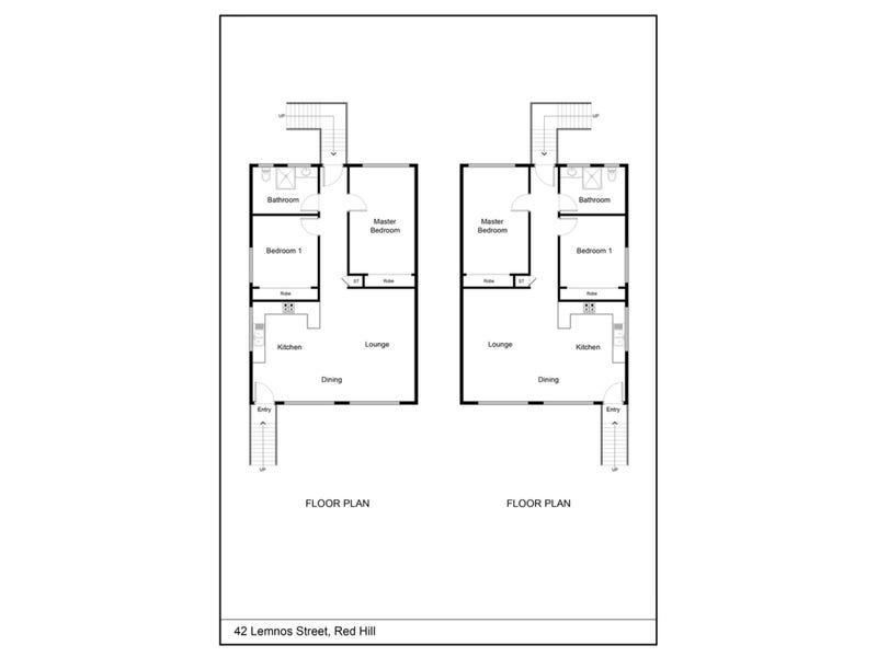 42 Lemnos Street, Red Hill, Qld 4059 - floorplan