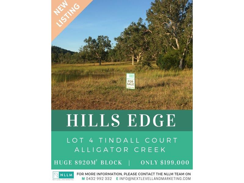 Lot 4, Tindall Court, Alligator Creek, Qld 4816