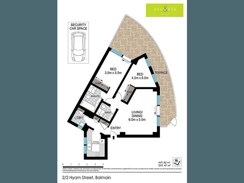 2/2 Hyam Street, Balmain, NSW 2041 - floorplan