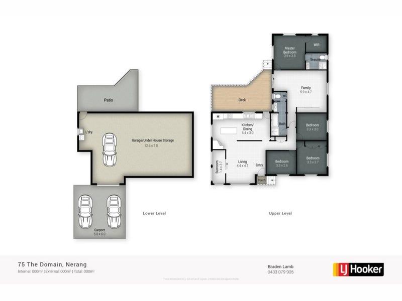 75 The Domain, Nerang, Qld 4211 - floorplan