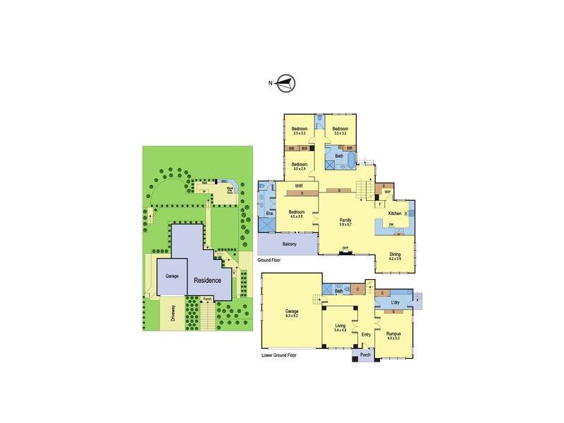 42 Barak Parade, Doreen, Vic 3754 - floorplan