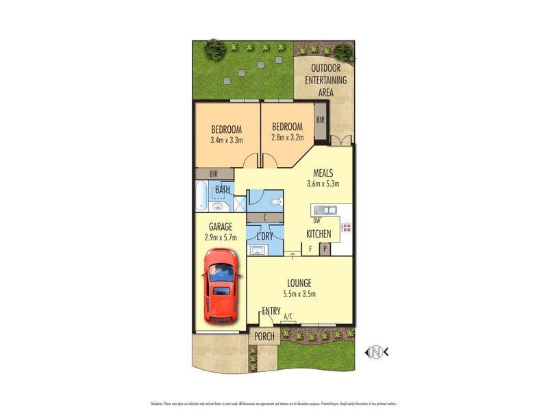2/121 Waterdale Road, Ivanhoe, Vic 3079 - floorplan