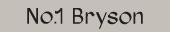No.1 Bryson